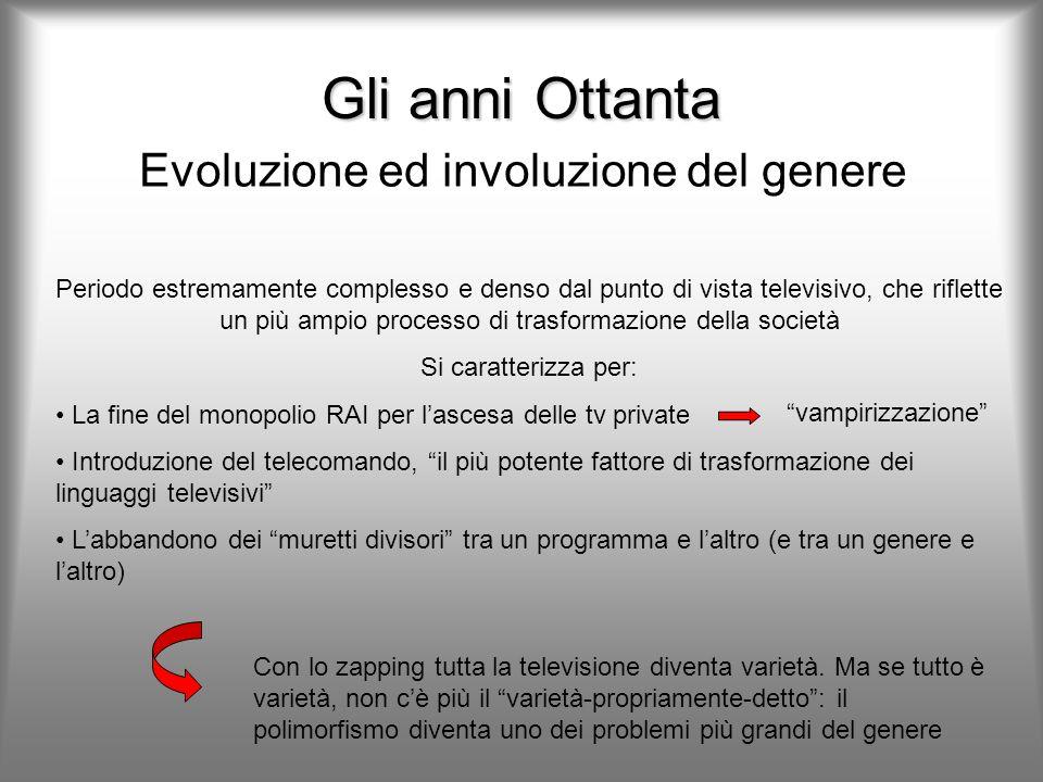 Evoluzione ed involuzione del genere