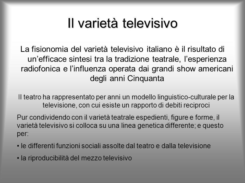 Il varietà televisivo
