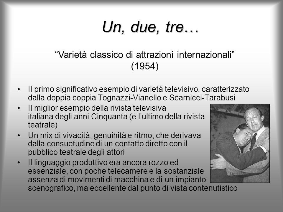 Varietà classico di attrazioni internazionali (1954)