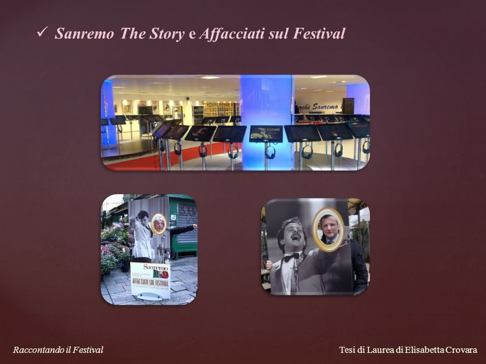 Sanremo The Story e Affacciati sul Festival