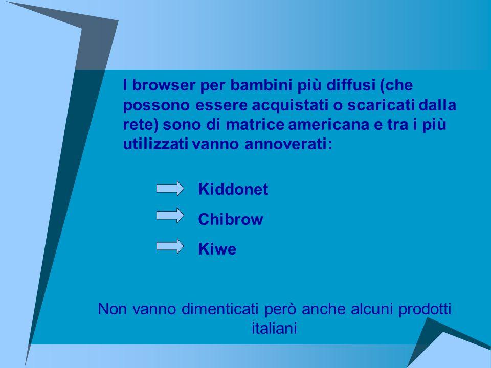 Non vanno dimenticati però anche alcuni prodotti italiani