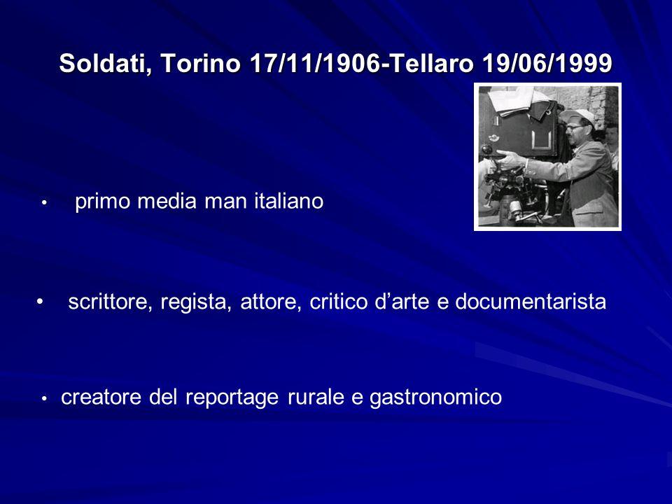 Soldati, Torino 17/11/1906-Tellaro 19/06/1999