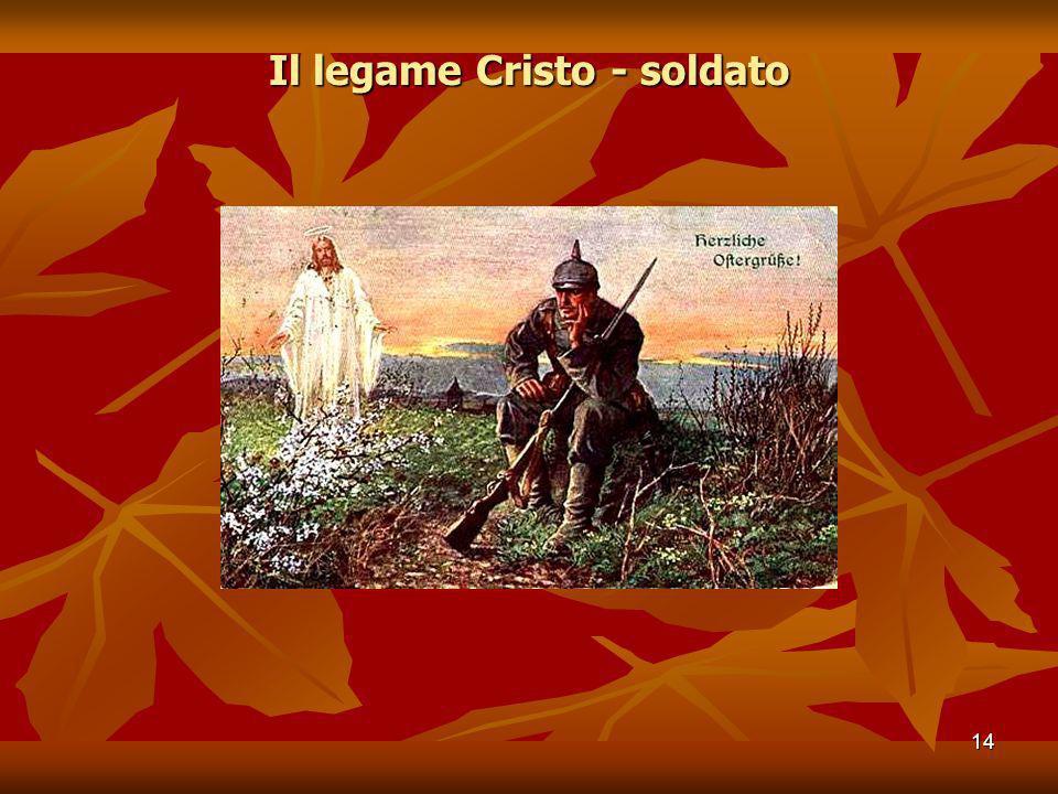 Il legame Cristo - soldato