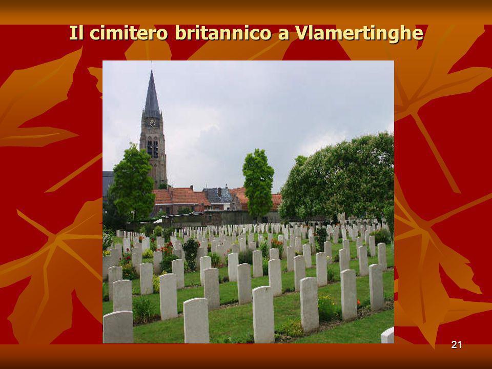 Il cimitero britannico a Vlamertinghe