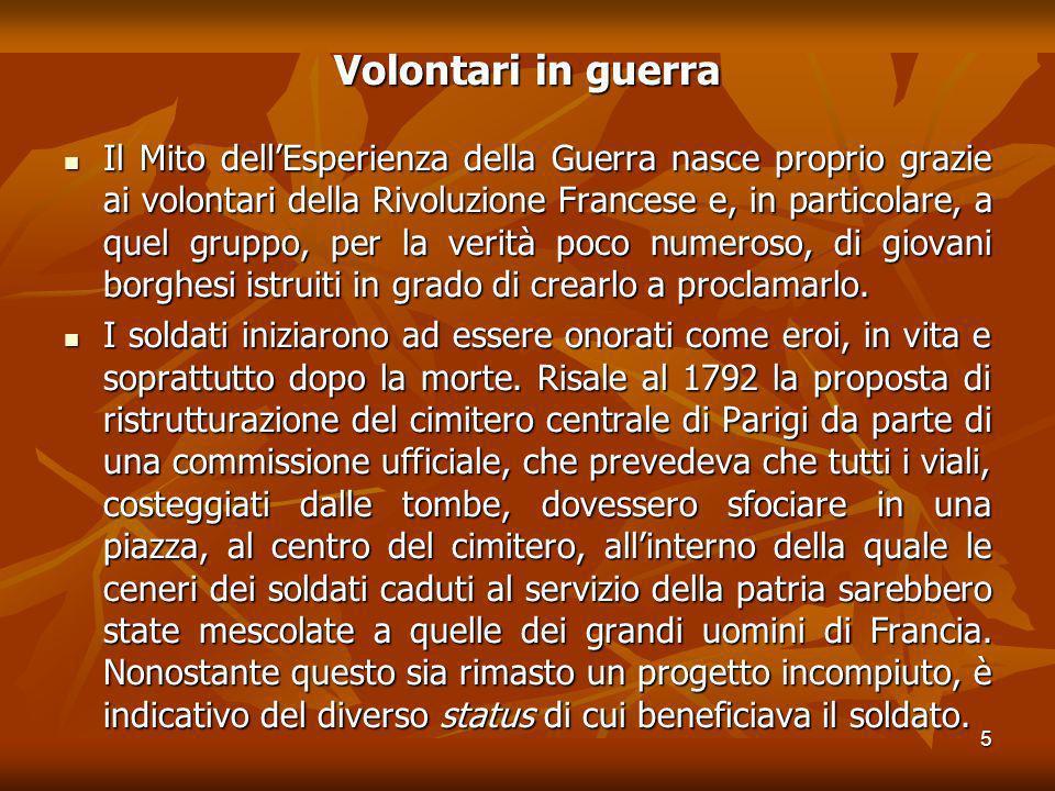 Volontari in guerra