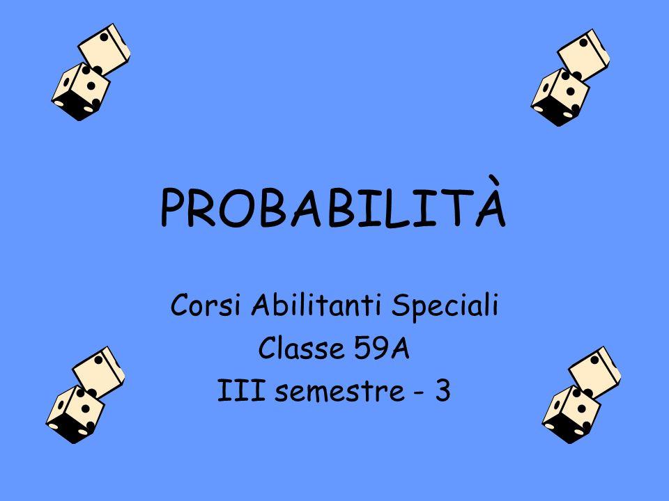 Corsi Abilitanti Speciali Classe 59A III semestre - 3