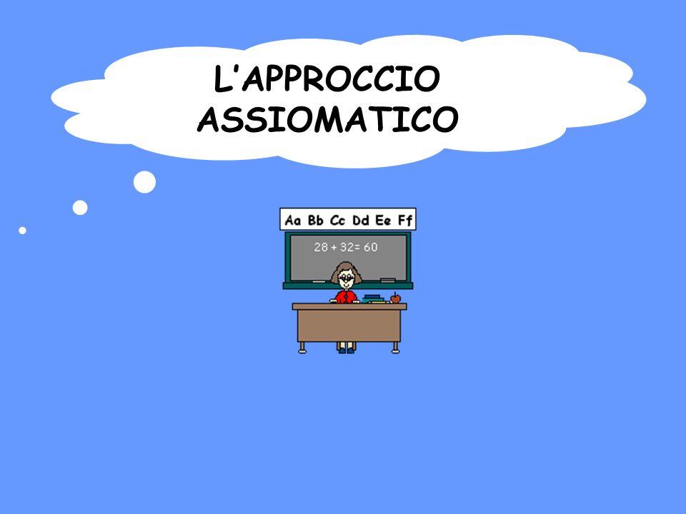 L'APPROCCIO ASSIOMATICO