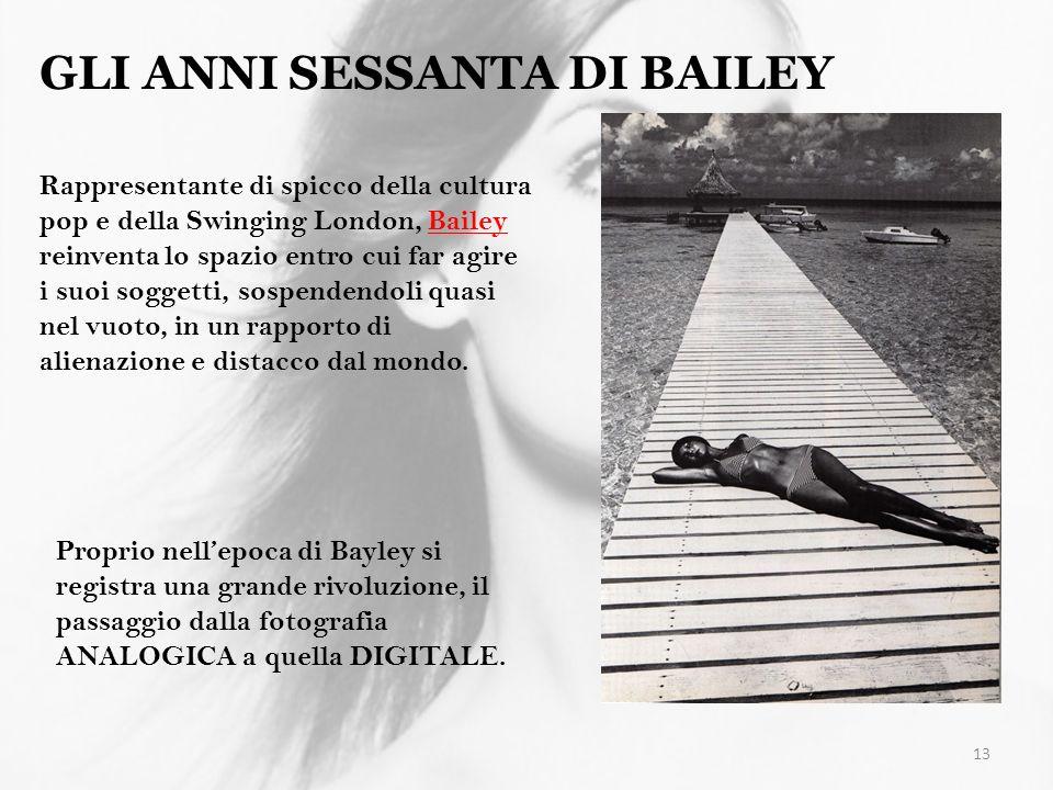 GLI ANNI SESSANTA DI BAILEY