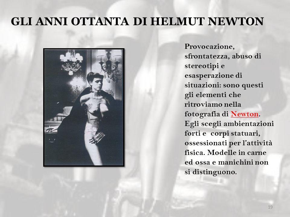 GLI ANNI OTTANTA DI HELMUT NEWTON