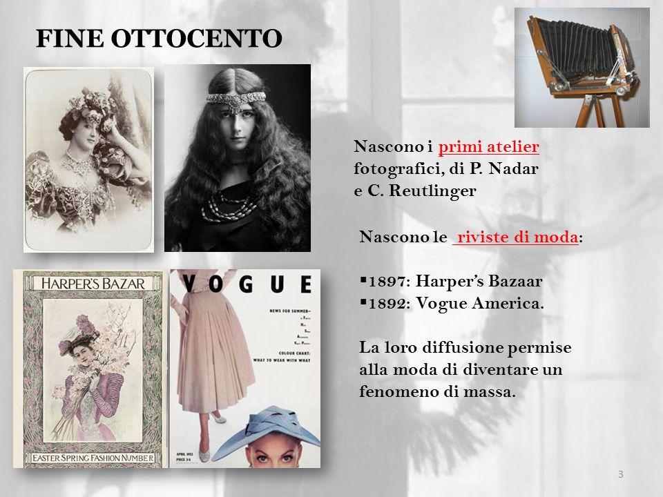 FINE OTTOCENTO Nascono i primi atelier fotografici, di P. Nadar