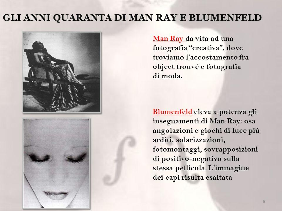 GLI ANNI QUARANTA DI MAN RAY E BLUMENFELD