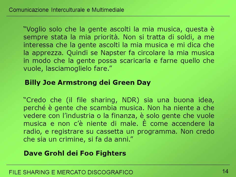 Billy Joe Armstrong dei Green Day