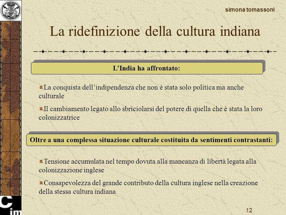 La ridefinizione della cultura indiana