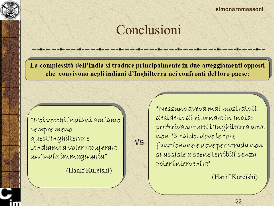 Conclusioni AMORE VS ODIO