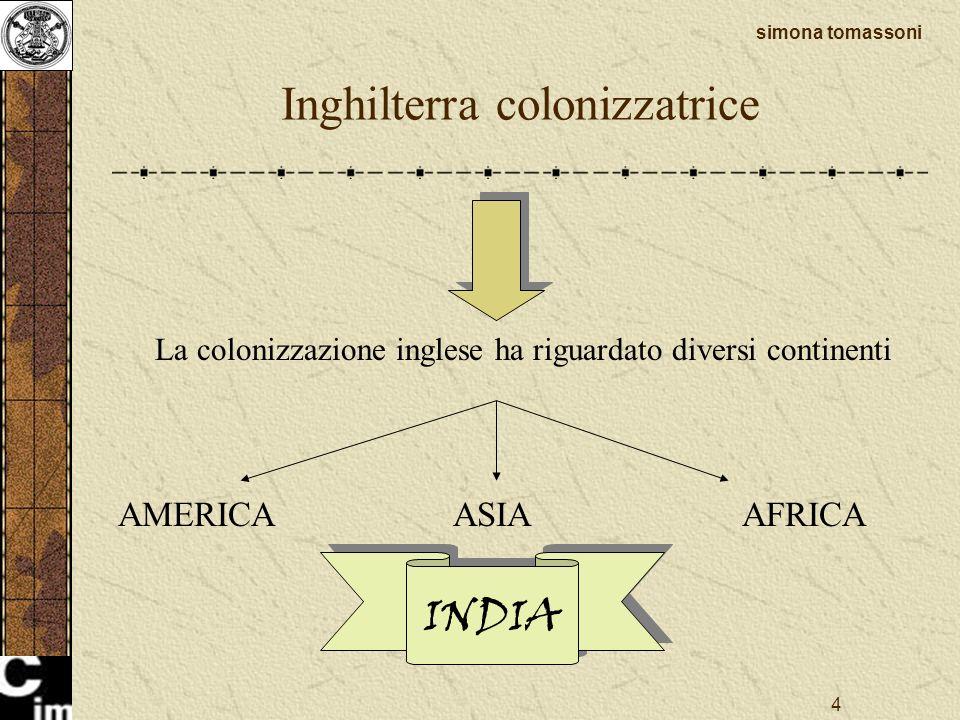 Inghilterra colonizzatrice