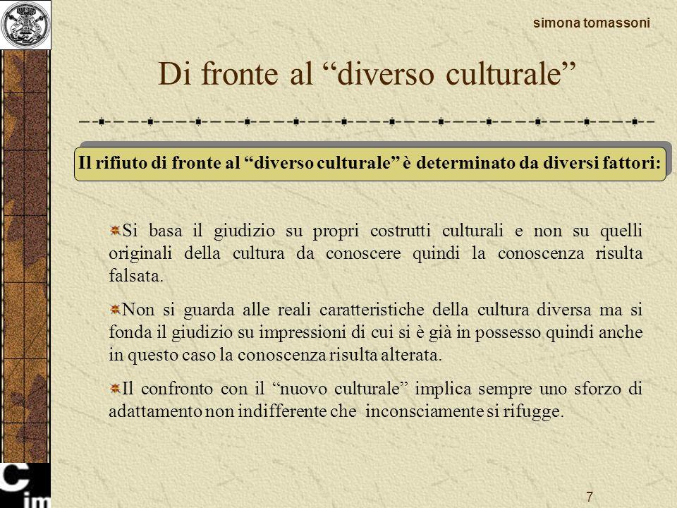 Di fronte al diverso culturale