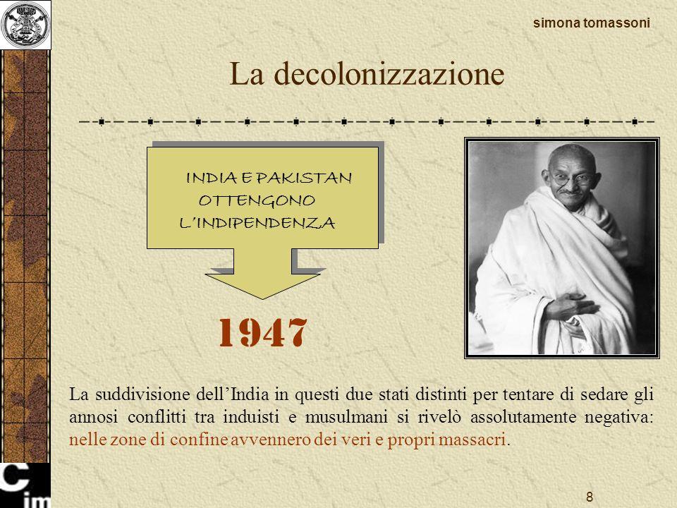 INDIA E PAKISTAN OTTENGONO L'INDIPENDENZA