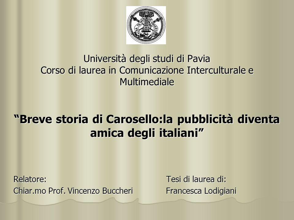 Breve storia di Carosello:la pubblicità diventa amica degli italiani