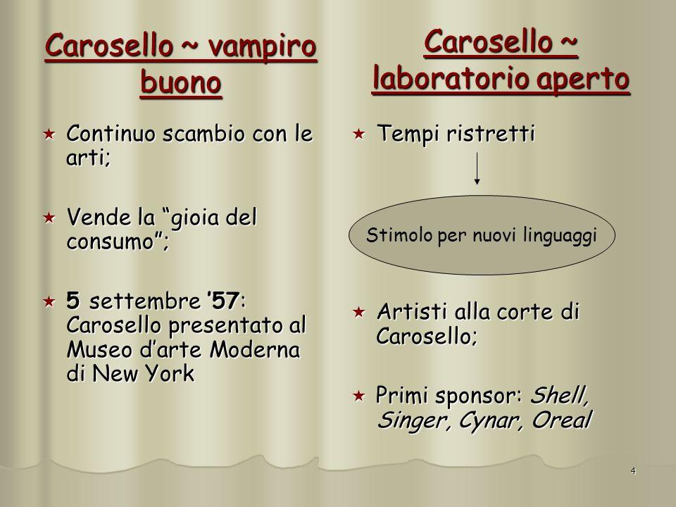 Carosello ~ vampiro buono