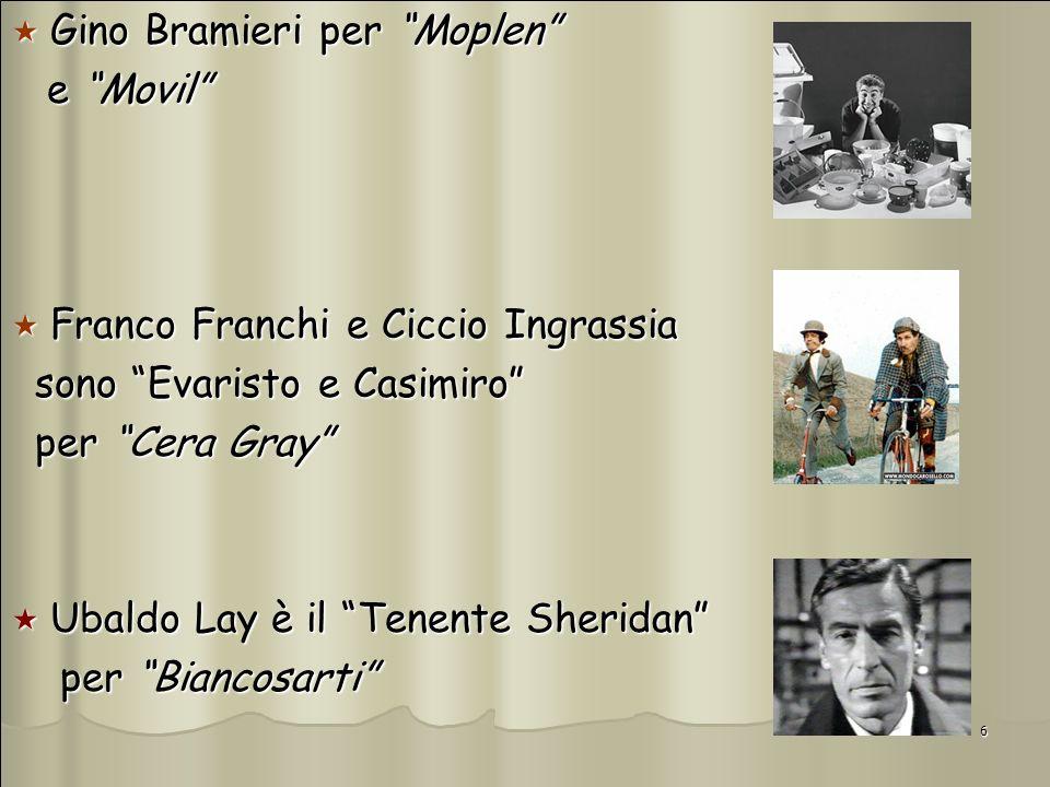 Gino Bramieri per Moplen