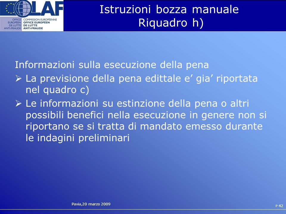 Istruzioni bozza manuale Riquadro h)