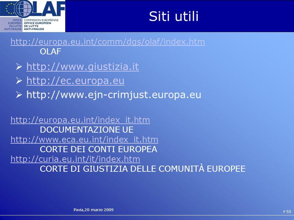 Siti utili http://www.giustizia.it http://ec.europa.eu