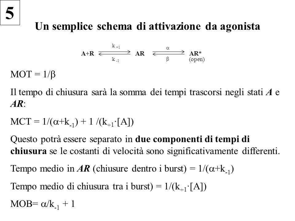 Un semplice schema di attivazione da agonista
