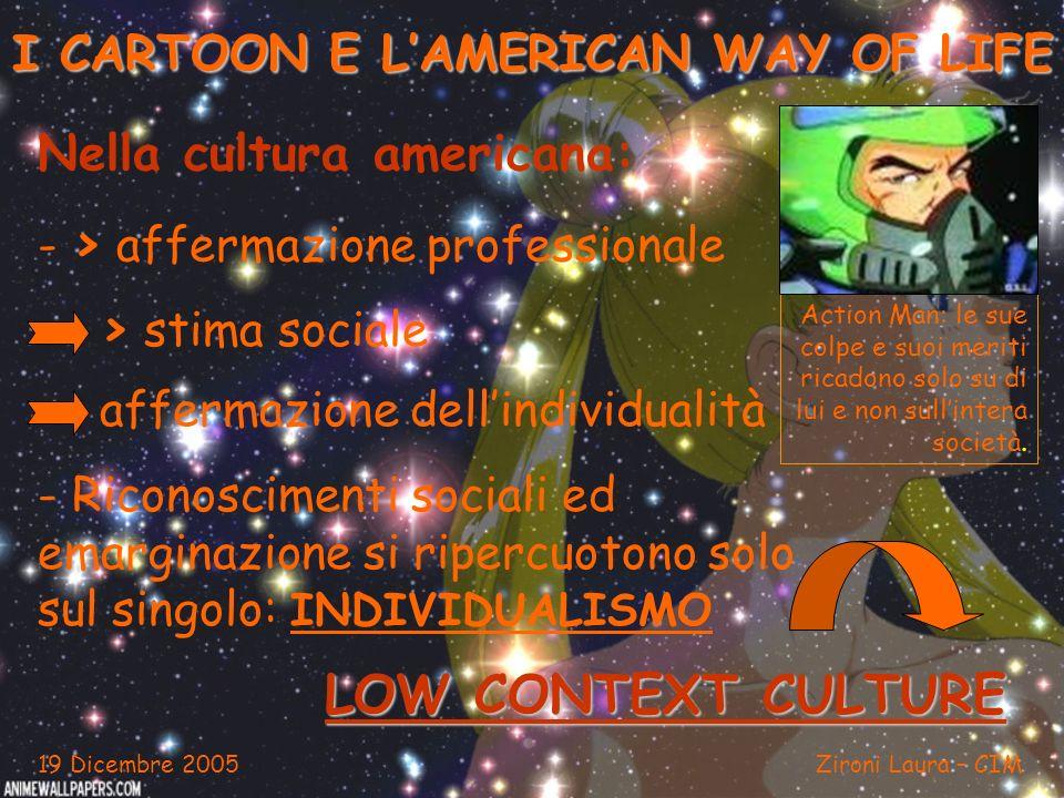 I CARTOON E L'AMERICAN WAY OF LIFE