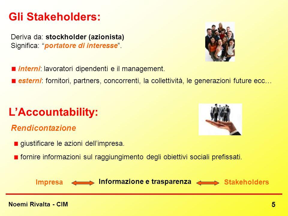 Informazione e trasparenza