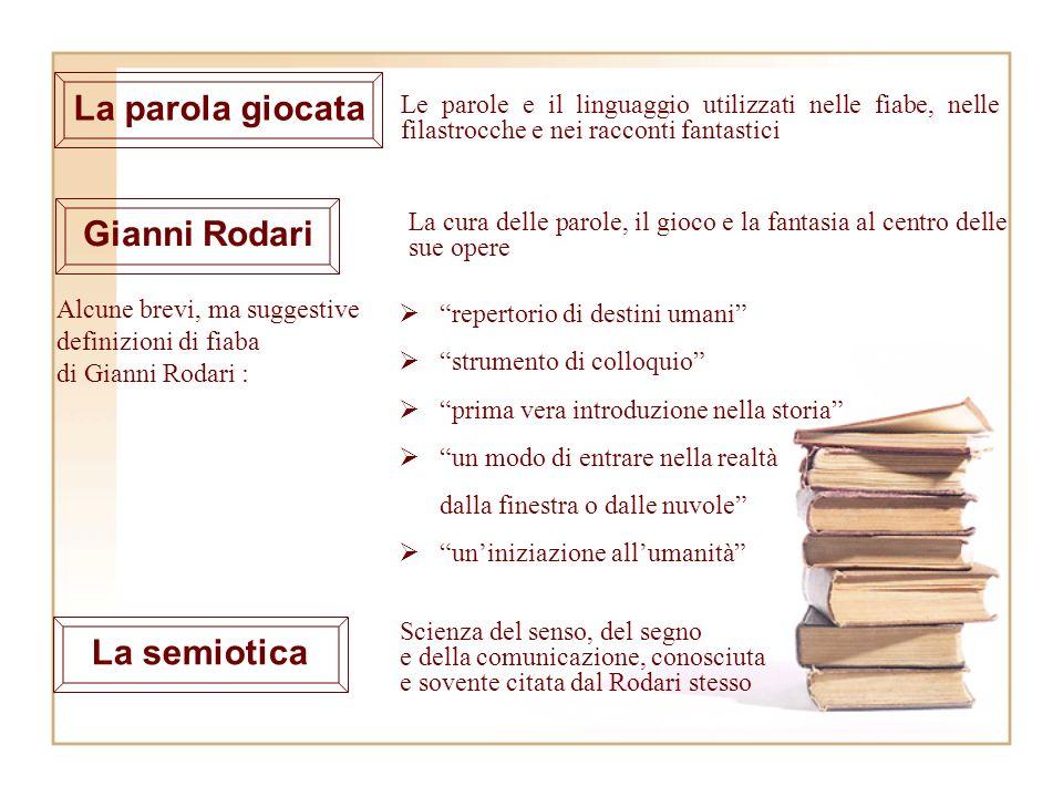 Alcune brevi, ma suggestive definizioni di fiaba di Gianni Rodari :