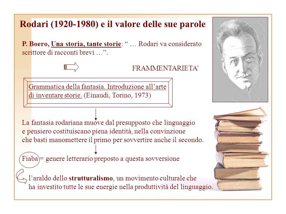 Rodari (1920-1980) e il valore delle sue parole