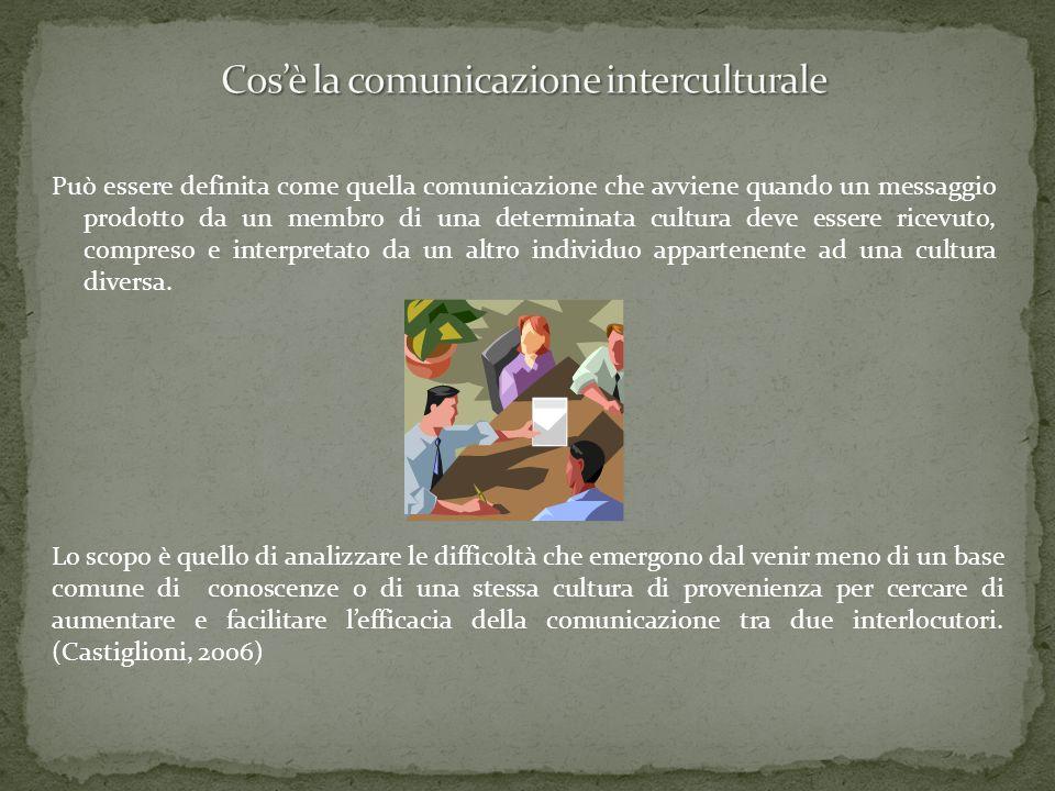 Cos'è la comunicazione interculturale