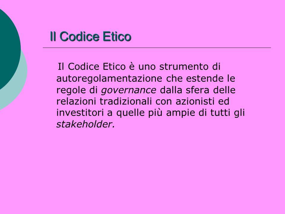 Il Codice Etico