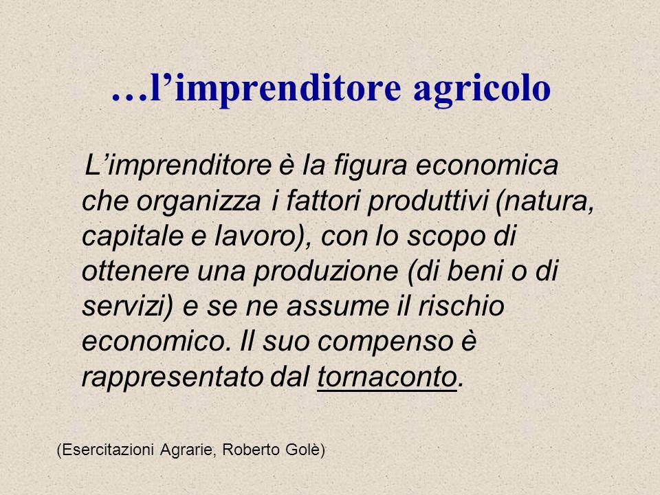 …l'imprenditore agricolo