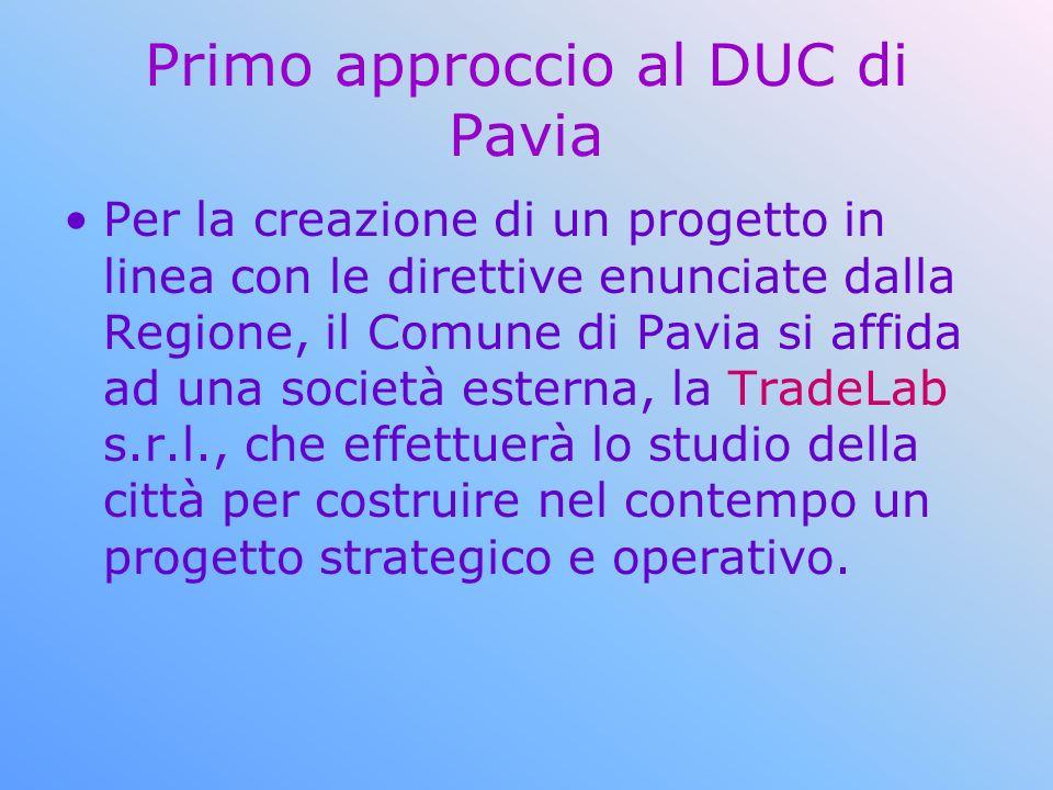 Primo approccio al DUC di Pavia
