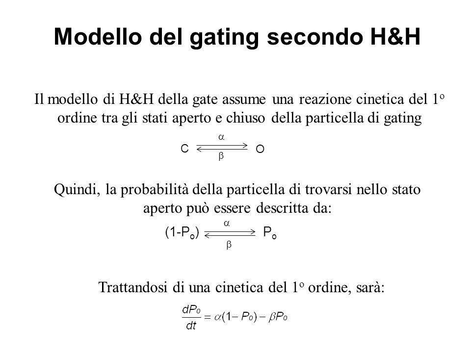 Modello del gating secondo H&H