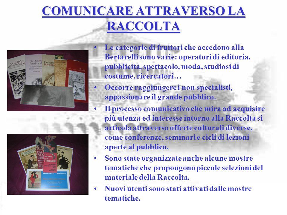 COMUNICARE ATTRAVERSO LA RACCOLTA