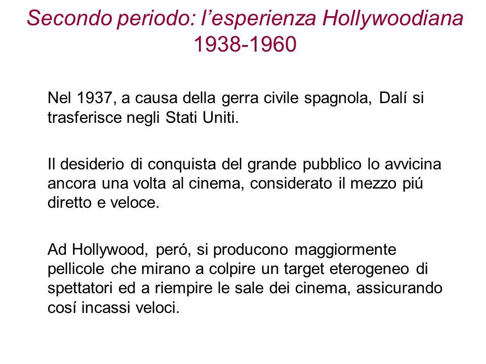 Secondo periodo: l'esperienza Hollywoodiana 1938-1960