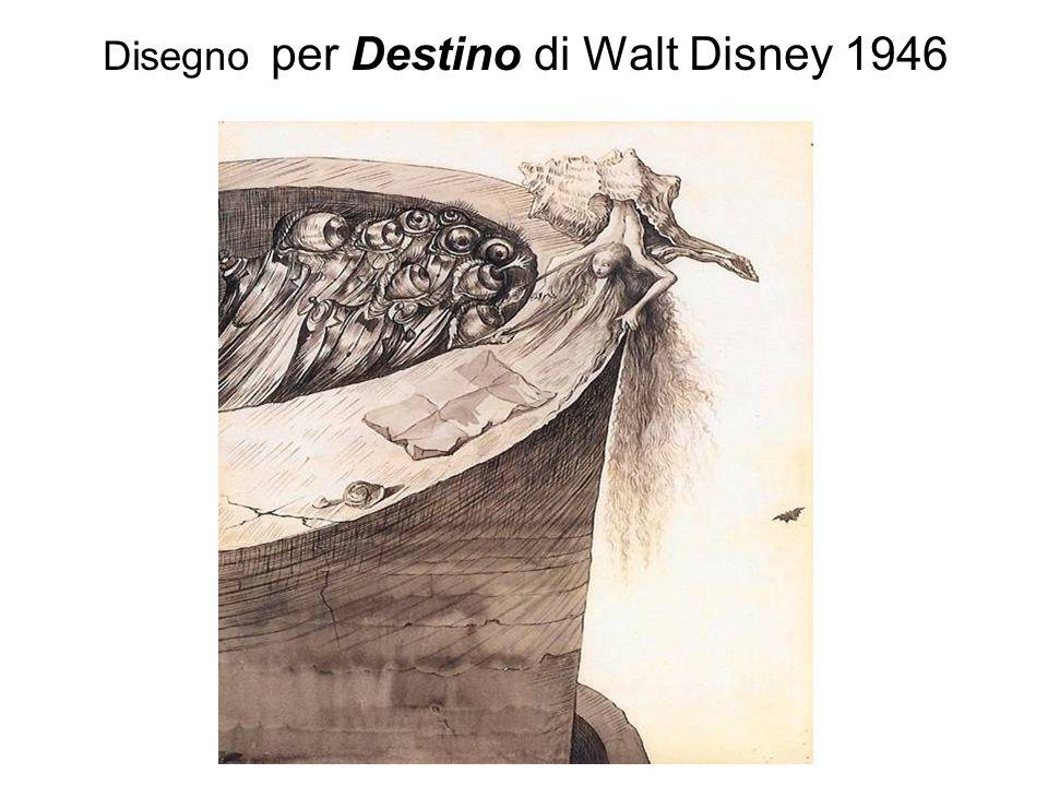 Disegno per Destino di Walt Disney 1946