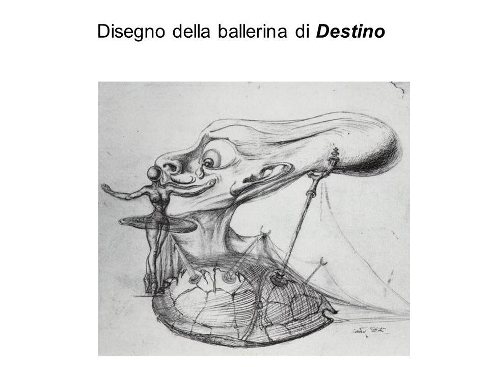 Disegno della ballerina di Destino
