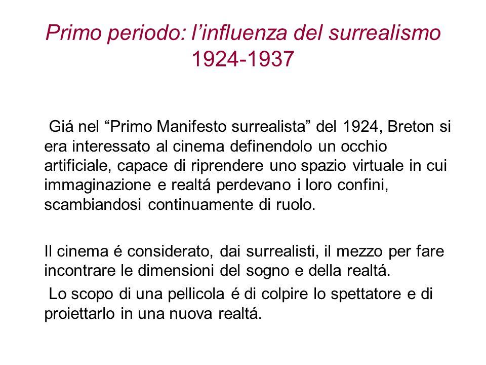 Primo periodo: l'influenza del surrealismo 1924-1937