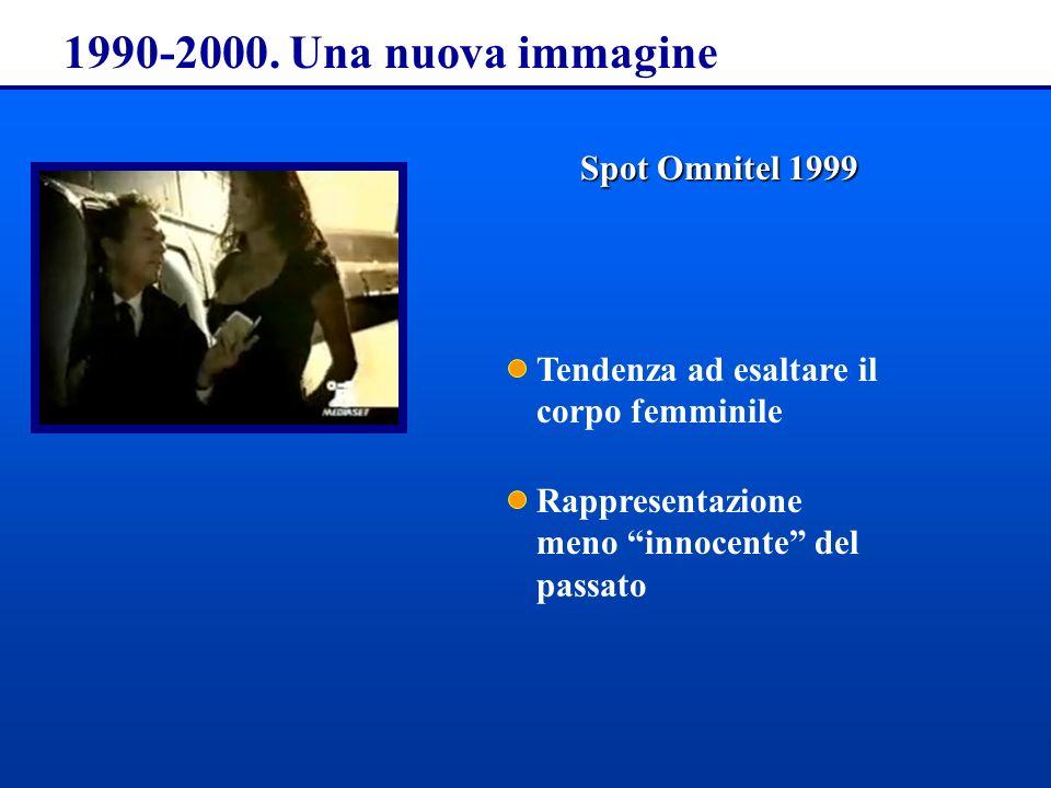 1990-2000. Una nuova immagine Spot Omnitel 1999