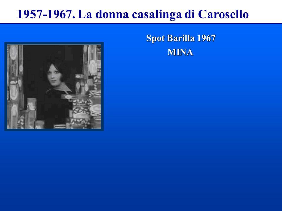 1957-1967. La donna casalinga di Carosello