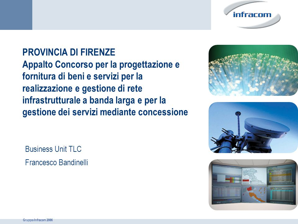 Business Unit TLC Francesco Bandinelli