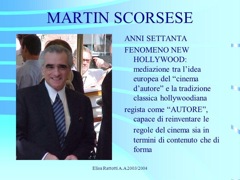 MARTIN SCORSESE ANNI SETTANTA