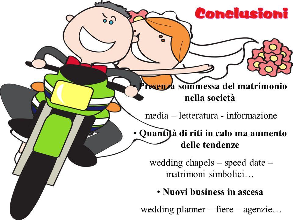 Presenza sommessa del matrimonio nella società