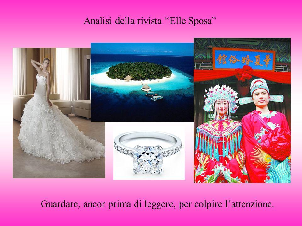 Analisi della rivista Elle Sposa