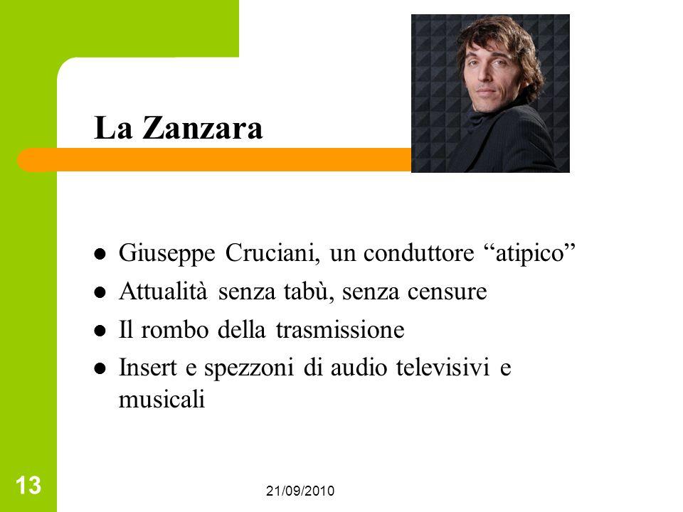 La Zanzara Giuseppe Cruciani, un conduttore atipico