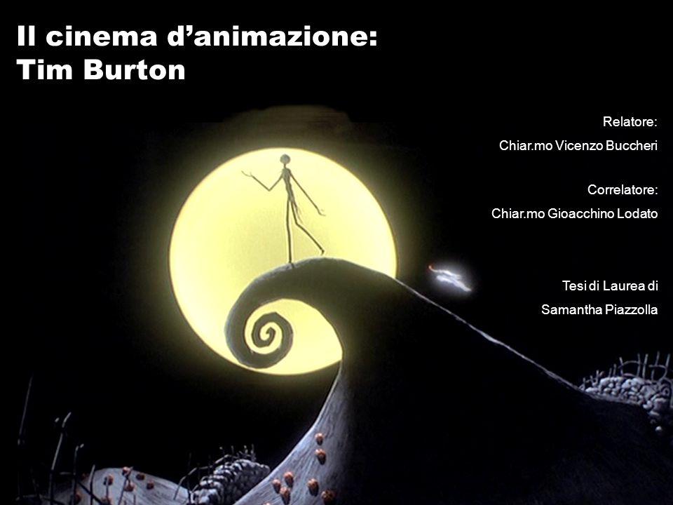 Il cinema d'animazione: Tim Burton