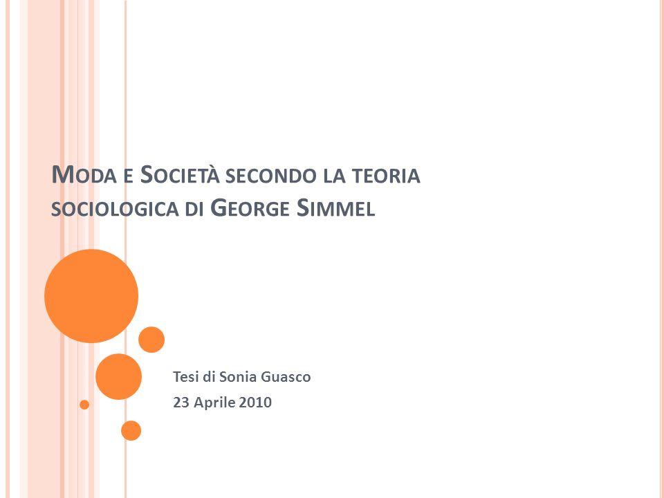 Moda e Società secondo la teoria sociologica di George Simmel